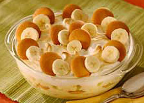 banana pudding from the angels