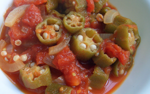 okra and tomatoes recipe