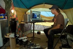 redneck tent